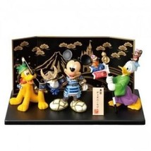 Tokyo Disney Resort limited dolls of Mickey, Pluto, Donald Duck - $109.86