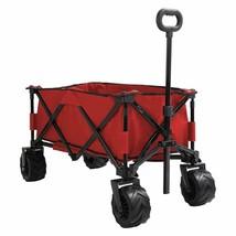 Patio Watcher Folding Wagon Cart Heavy Duty Collapsible Utility Wagon Al... - $165.99