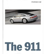 1996 Porsche 911 CARRERA brochure catalog US 96 4 4S TARGA TURBO 993 - $12.00