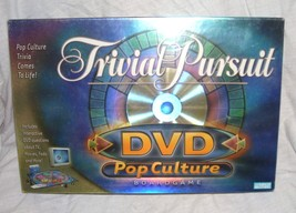 Trivial Pursuit DVD POP CULTURE Board Game NEW! 2003 - $21.96