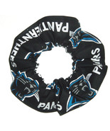 Carolina Panthers Hair Scrunchie Scrunchies by Sherry Tie Ponytail Holde... - $6.99+