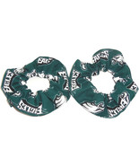 Philadelphia Eagles Hair Scrunchie Scrunchies by Sherry Tie NFL Ponytail... - $6.99+