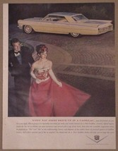 1963 Cadillac Print Ad Vintage Fleetwood - $12.95