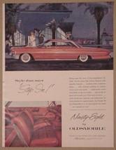 1961 Oldsmobile Classic 98 Ninety-Eight Print Ad 2-Door - $12.95