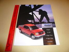 Ford Ranger F-150 Super Crew Super Duty Econoline Accessories Sales Broc... - $7.84