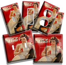 RETRO SEXY LADY COCA-COLA LIGHT SWITCH POWER OUTLET WALL PLATE COVER ROO... - $8.99 - $17.99