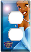 Princess Tiana And Prince Naveen The Frog Movie 2 Hole Outlet Wall Cover Plate - $8.09