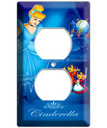 PRINCESS CINDERELLA POWER OUTLET WALL PLATE COVER GIRLS PLAY GAME ROOM BEDROOM - $9.99