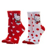 Sanrio Hello Kitty 2 Pack Ankle Socks - Fits Shoe Size 5-10 - €13,22 EUR
