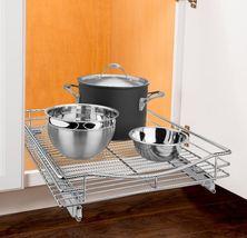 Cabinet Shelf Storage Multipurpose Pull Out Hea... - $57.99