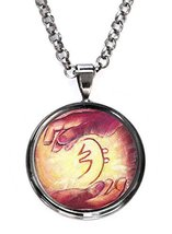Sei Hei Ki Reiki Healing Hands Gunmetal Pendant with Chain Necklace [Jewelry] - $14.95