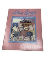 Country Folk Art Too! Cross Stitch | Alma Lynne ALX-51 Samplers Animals - $9.89