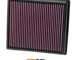 K&N Replacement Air Filter Fits Bmw 116I 1.6L-L4; 2011 33-2990