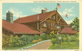 Buffalo Bill's Memorial Museum, Lookout Mountain, Colorado, 1952 used Postcard - $7.99