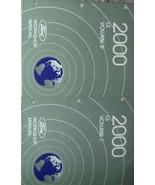 2000 LINCOLN LS Service Shop Repair Manual Set OEM 00 DEALERSHIP BRAND N... - $207.90