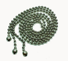 3 Bead Ball Chain For Ceiling Glass Light Fixture Shade