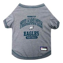 PHILADELPHIA EAGLES Dog T-Shirt * NFL Football Team Fan Gear Pet Puppy T... - €15,73 EUR