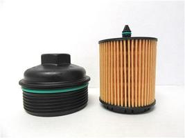 OEM GM General Motors Engine Oil Filter Assembly With Cap 12605565 12605566 - $15.00