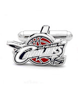 Cleveland Cavaliers Cufflinks Silver Plate Cavs... - $19.75