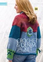 Z142 Crochet Pattern Only Crochet & Denim Jacket Pattern - $7.50