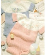 Z052 Crochet PATTERN ONLY 2 Darling Baby Bubble Suits Patterns - $8.50
