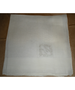 "Men's Handkerchief - White with the Initial  ""M""  - $2.50"