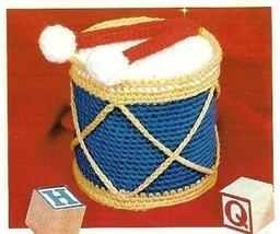 Z007 Crochet Pattern Only Drum Tissue Roll Cover Pattern - $7.50