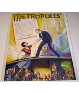 """1927 Trade Ad Silent Sci-Fi Movie """"Metropolis""""  Fritz Lang - $19.59"""