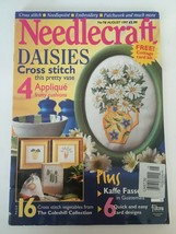 Needlecraft Magazine August 1997 Cross Stitch Needlepoint Embroidery Pat... - $8.99