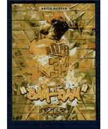 2017 Topps Fire Monikers Gold Minted #M-21 Bryce Harper NM-MT National I... - $5.93