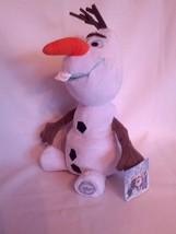 Olaf Snowman Cuddly Disney Frozen 12 inch Plush Fun Genuine Authentic L... - $8.90