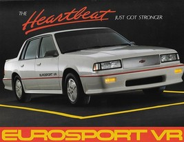 1987 Chevrolet Celebrity EUROSPORT VR sales brochure sheet 87 Chevy - $8.00