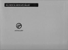 2006 Mercury MILAN sales brochure catalog portfolio US 06  - $6.00