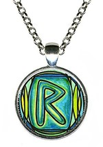Rune Raidho for Journey and Mastery Handmade Silver Pendant [Jewelry] - $14.95