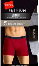 Hanes Slimfit LowRiseBoxer Brief 5-Pack multi color - $39.97