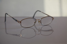 AMA L'ART Eyewear, Gold Frame, Crystal RX-Able Prescription lenses. USA - $33.66
