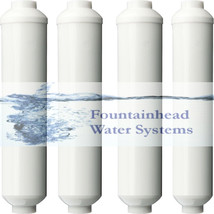 4 REVERSE OSMOSIS/FRIDGE/WATER COOLER WATER IN-LINE POST CARBON FILTER 2... - $28.84