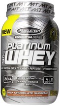 MuscleTech Essential Platinum 100% Whey, 2 lb Milk Chocolate Supreme - $99.00