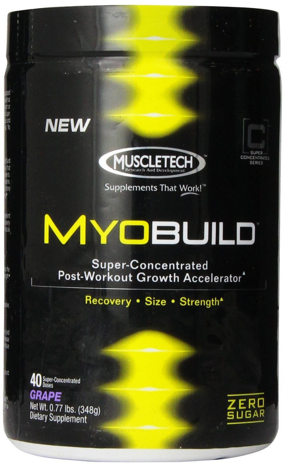 Primary image for MuscleTech Myobuild, 0.76 lb Grape