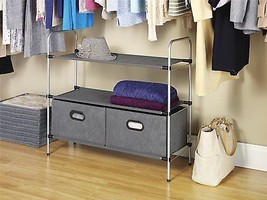 Closet Organizer Collection 3 Tier Shelves with... - $35.15