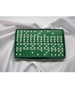 green double six New Dominoes Gr Large Size Poly-vinyl resin Free Shippi... - $29.95