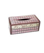 Box Tissue Cover Holder Paper New Car Kleenex Home Decor Shape Square Ha... - $16.00