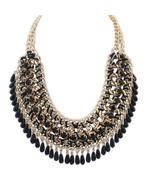 Fashion Bohemian Necklace for Women Tassel Drop Vintage Multilayer Colla... - $7.99