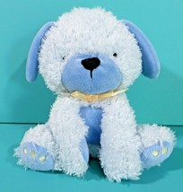 "Carters Child of Mine Puppy Dog 6"" Plush Barks Blue Stuffed Animal Baby Lovey - $29.95"