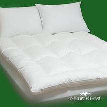 King size Fiber Bed Mattress Pad Topper in 100-Percent Cotton - $199.00
