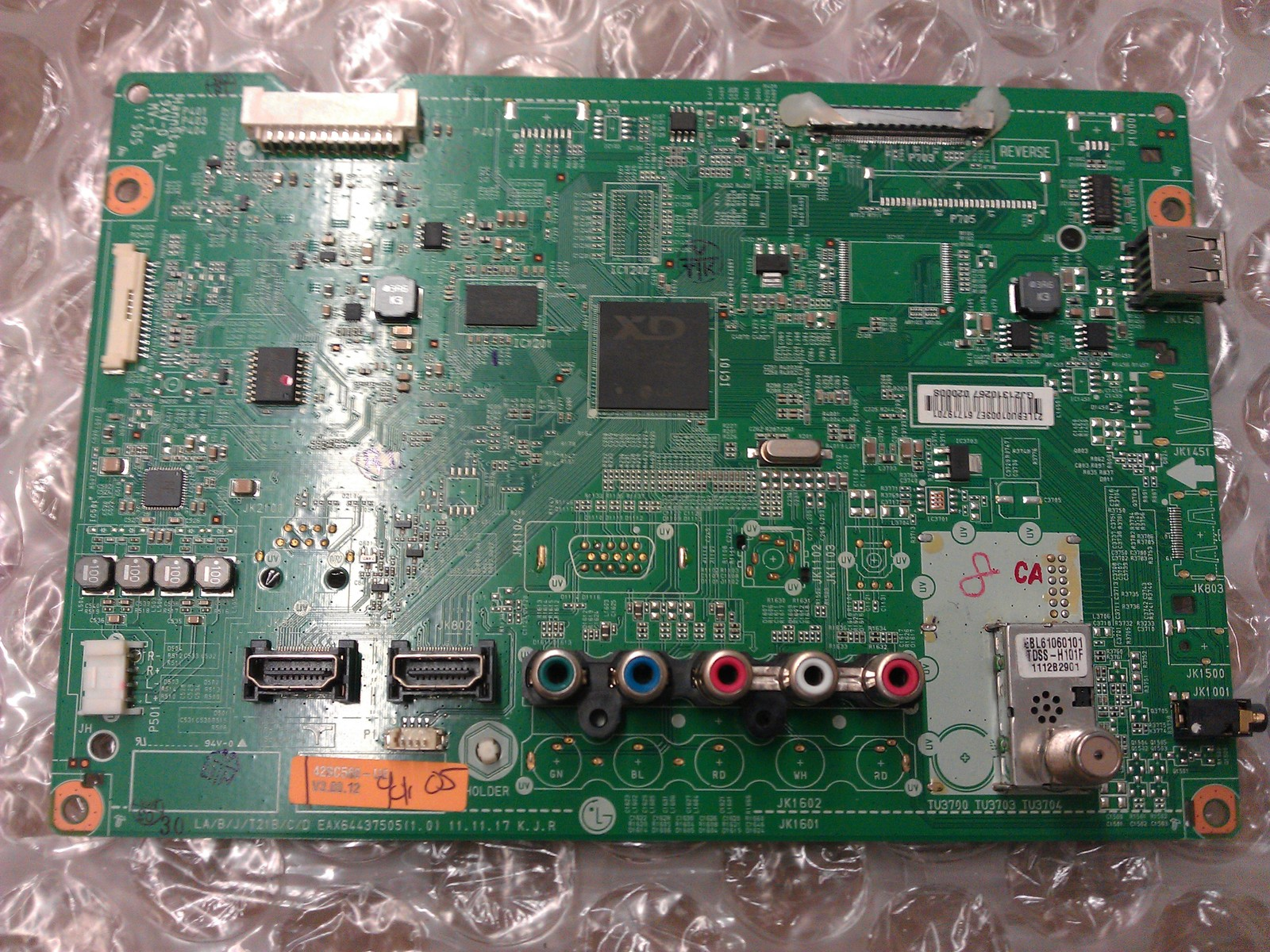 EBU61719701 Main Board From LG 42CS560-UE.AUSYLHR LCD TV
