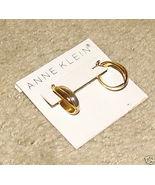 Vintage Costume Jewelry Goldtone Anne Klein Pierced Earrings - $5.95