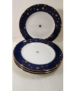 Sakura Galaxy Porcelain 4 Salad or Dessert Plat... - $19.99