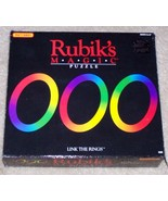 Vintage 1986 rubik s magic puzzle link the rings 2 thumbtall