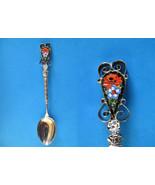 Italy Souvenir Collector Spoon Collectible Italian Micro Mosaics Vintage... - $34.99